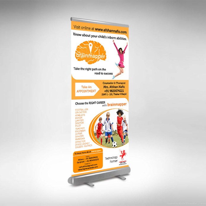 Standee Design for The Healing Touch Thakur Village Kandivali